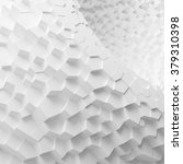 white geometric abstract... | Shutterstock . vector #379310398