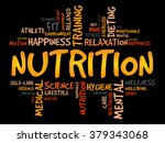 nutrition word cloud  fitness ... | Shutterstock . vector #379343068