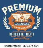sport athletic california... | Shutterstock .eps vector #379375564