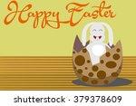 happy easter | Shutterstock .eps vector #379378609