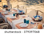 Wedding Table On The Shore