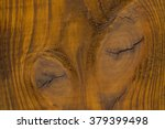 Wood With Knots Close Up....