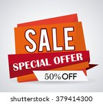 discount and offer design | Shutterstock .eps vector #379414300