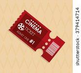 ticket icon design  | Shutterstock .eps vector #379414714