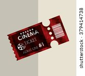 ticket icon design  | Shutterstock .eps vector #379414738