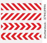 do not cross the line caution...   Shutterstock .eps vector #379419994