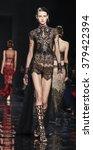 new york  ny  usa   february 15 ... | Shutterstock . vector #379422394
