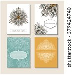 set of perfect vector card... | Shutterstock .eps vector #379424740
