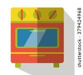 stove vector flat icon | Shutterstock .eps vector #379424968