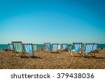 brighton beach | Shutterstock . vector #379438036