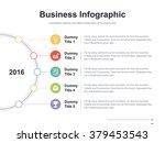 flat business presentation... | Shutterstock .eps vector #379453543