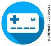 medical insurance card long... | Shutterstock .eps vector #379459258