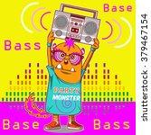music monster character  | Shutterstock .eps vector #379467154