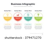 flat business presentation... | Shutterstock .eps vector #379471270