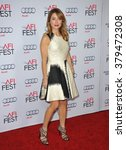 Small photo of LOS ANGELES, CA - NOVEMBER 12, 2014: Actress Sasha Alexander at the American Film Institute's special tribute gala honoring Sophia Loren at the Dolby Theatre.
