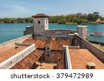 fortress castillo de san felipe ...   Shutterstock . vector #379472989