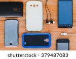 cell phone and accessories for... | Shutterstock . vector #379487083