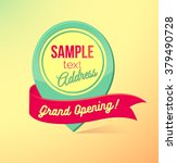 Grand Opening Sticker With...