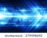 abstract futuristic speed... | Shutterstock .eps vector #379498690