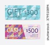 gift voucher modern template | Shutterstock .eps vector #379510894