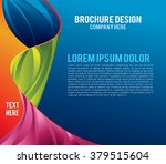 illustrated colorful layout...