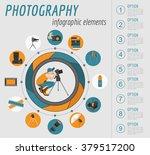 photography infographics set... | Shutterstock .eps vector #379517200