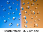 multicolored drops of water on... | Shutterstock . vector #379524520