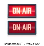 on air realistic sign | Shutterstock .eps vector #379525420