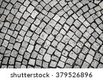 stone pavement texture. view... | Shutterstock . vector #379526896