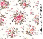 seamless floral pattern with... | Shutterstock .eps vector #379531846