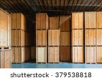 clean storage warehouse with... | Shutterstock . vector #379538818