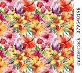 beautiful botanical seamless...   Shutterstock . vector #379540198