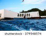u.s.s. arizona memorial  pearl... | Shutterstock . vector #379548574