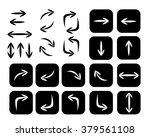 set of arrows  vector... | Shutterstock .eps vector #379561108