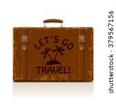 vintage brown threadbare... | Shutterstock .eps vector #379567156