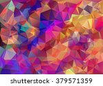 bright color crumpled... | Shutterstock .eps vector #379571359