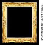 golden picture  isolated on... | Shutterstock . vector #379574038