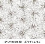 seamless hexagon lines pattern... | Shutterstock .eps vector #379591768