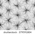 seamless hexagon lines pattern... | Shutterstock .eps vector #379591804