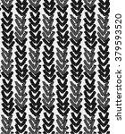 knitted vector texture ... | Shutterstock .eps vector #379593520