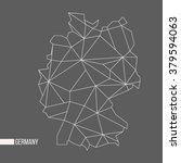 abstract polygonal geometric... | Shutterstock .eps vector #379594063