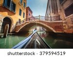 venice  italy. view from... | Shutterstock . vector #379594519