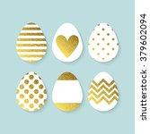 Easter Eggs Decoration With...