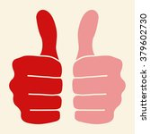 thumbs up icon | Shutterstock .eps vector #379602730