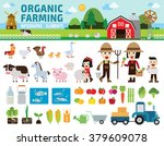 agriculture and farming.... | Shutterstock .eps vector #379609078