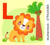 cute animal alphabet for abc...   Shutterstock .eps vector #379610383