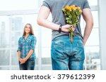Romantic Photo Of Happy Young...