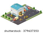 warehouse vector illustration... | Shutterstock .eps vector #379637353