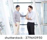 caucasian business executive... | Shutterstock . vector #379643950