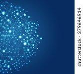 abstract global network digital ... | Shutterstock . vector #379646914